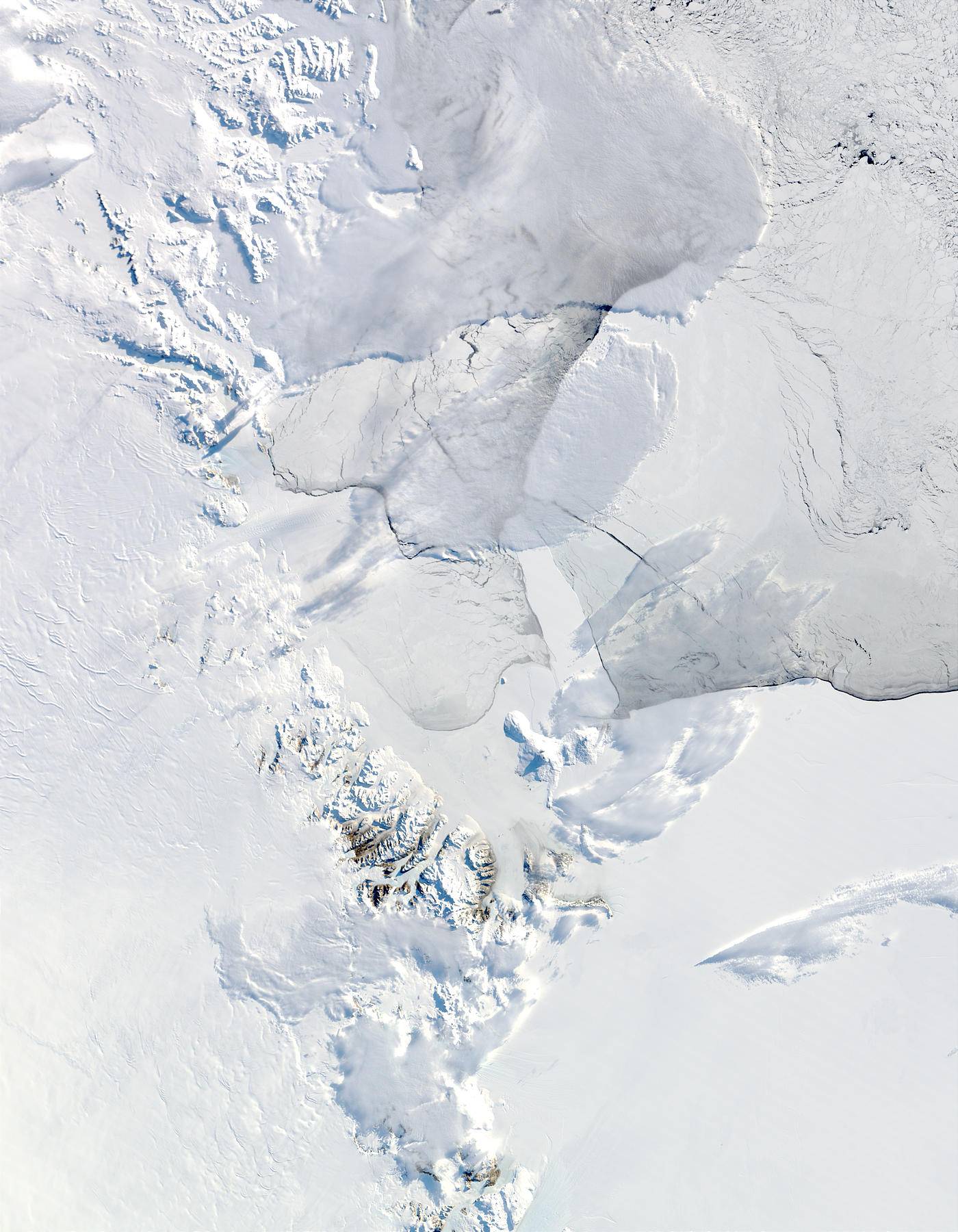 C-16, C-19 and B-15A icebergs in the Ross Sea, Antarctica - related image preview