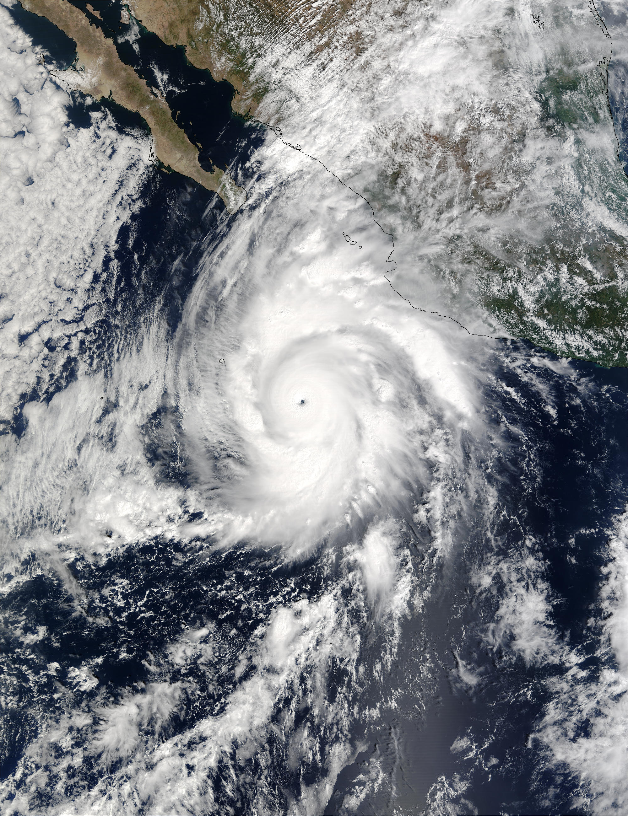 Hurricane Kenna off Mexico - related image preview