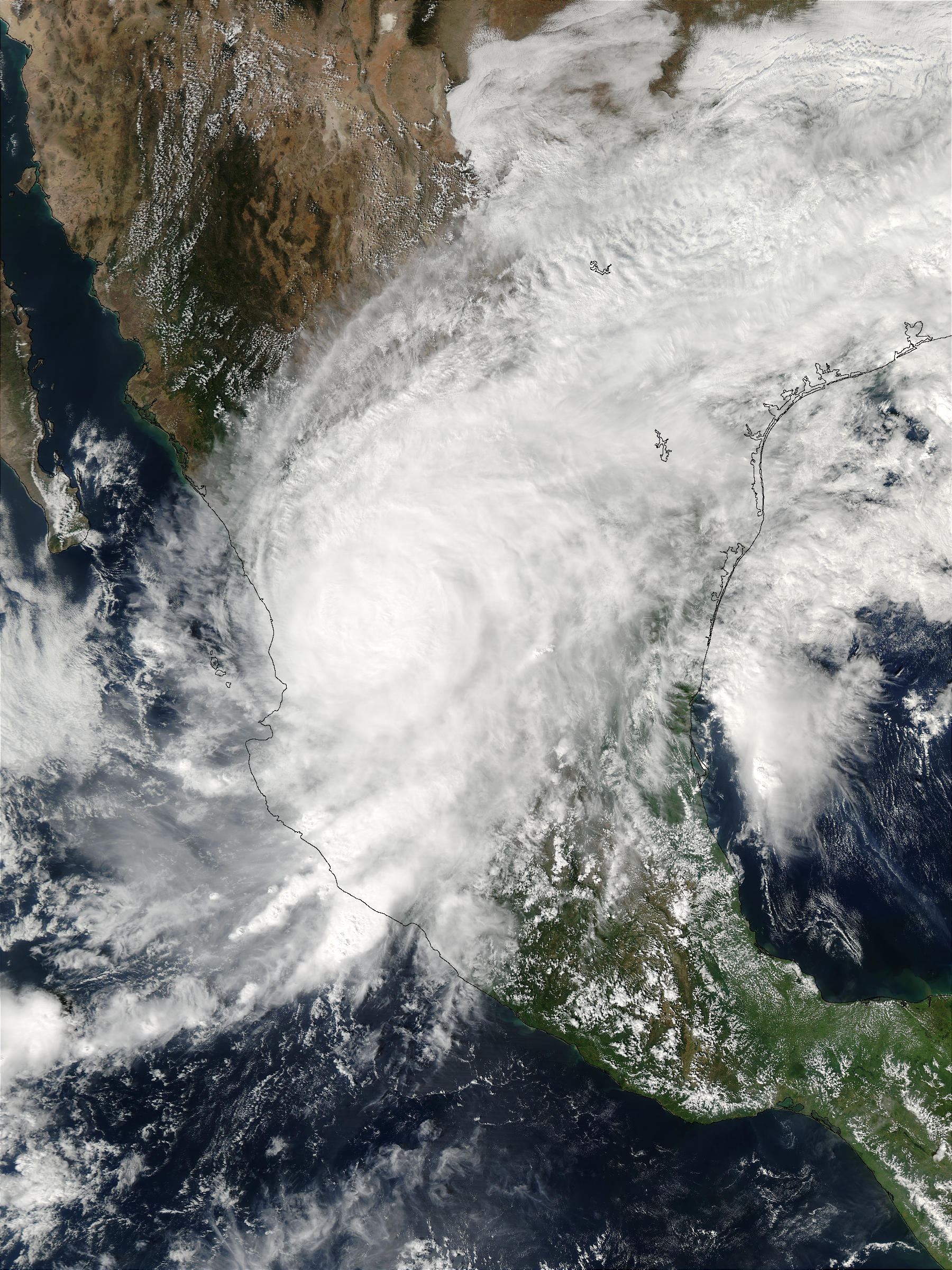 Hurricane Kenna over Mexico - related image preview