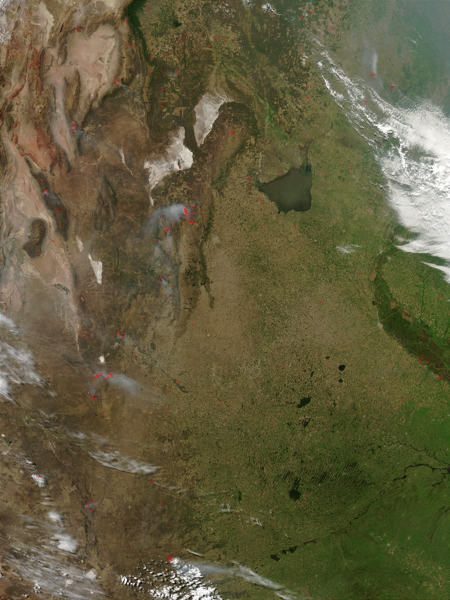 Fires in Central Argentina - related image preview