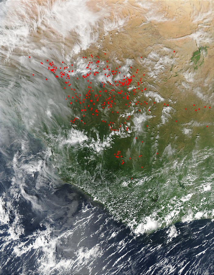 Fires in Mali, Mauritania, Senegal, Guinea - related image preview