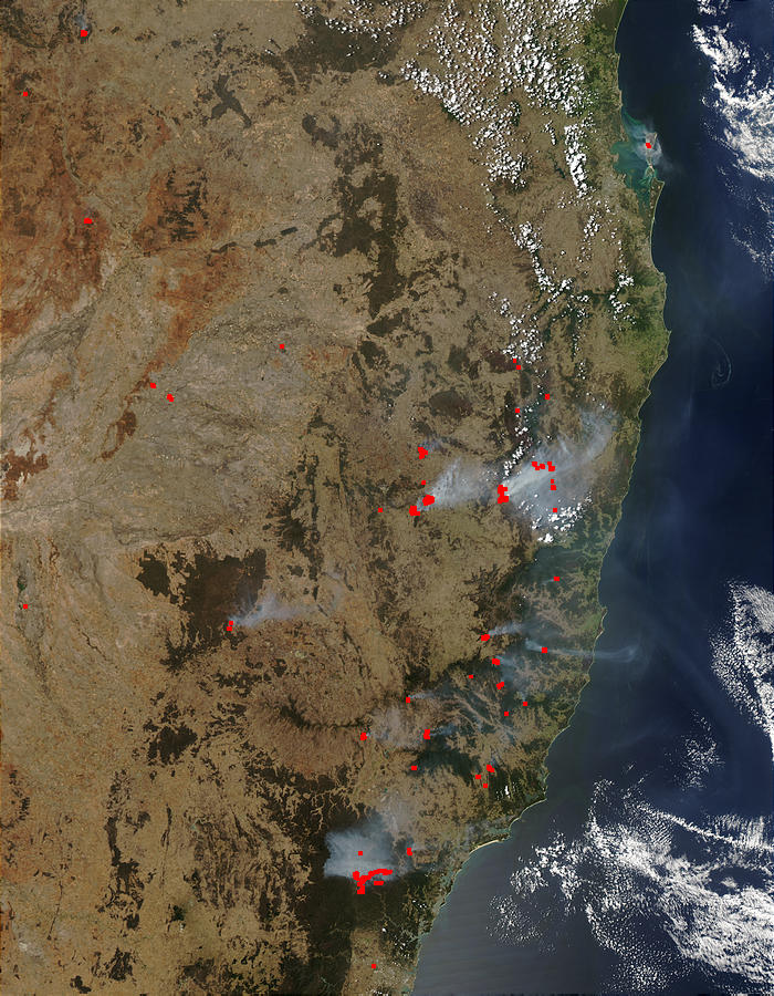 Fires in New South Wales, Australia - related image preview