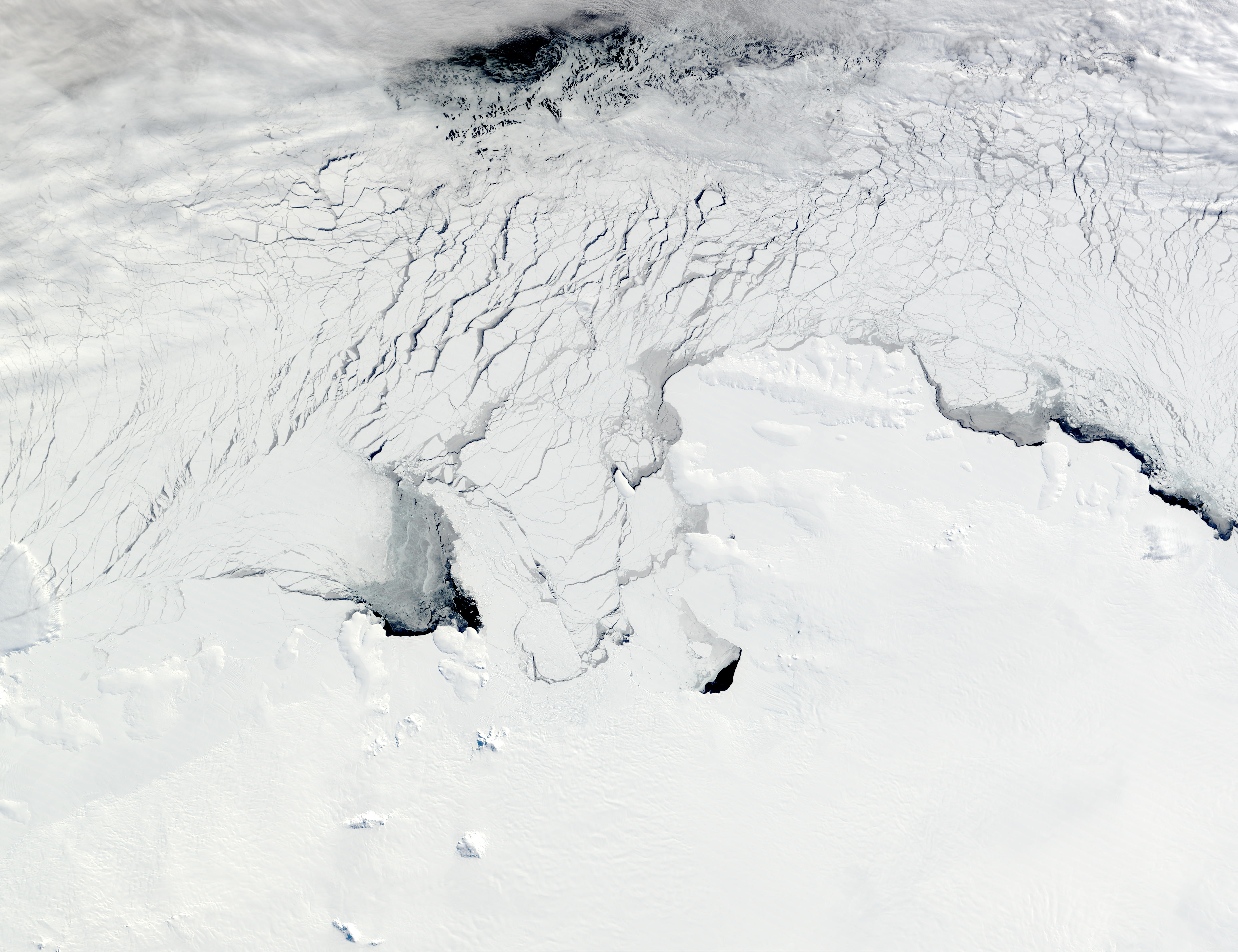 Amundsen Sea and Bellingshausen Sea, Antarctica - related image preview