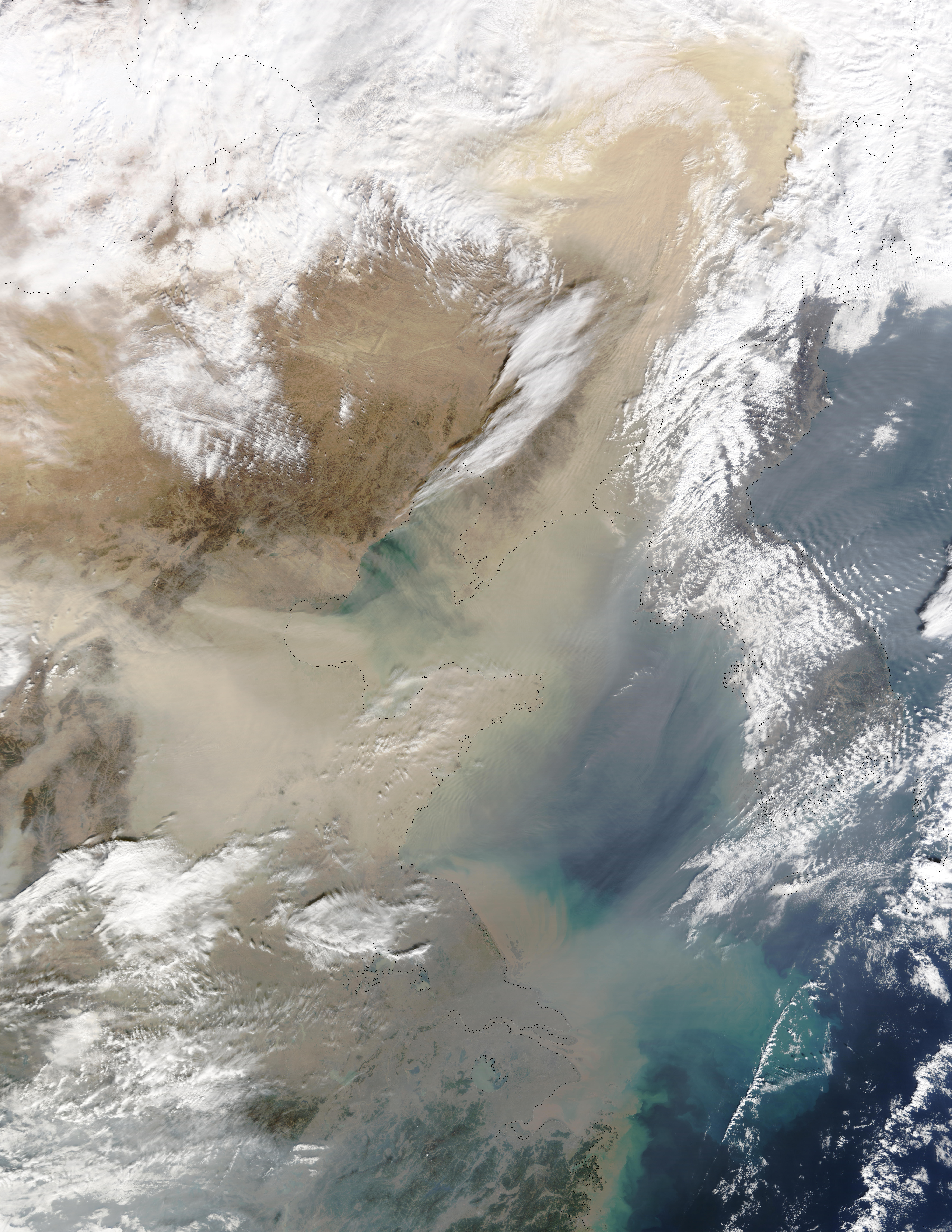 Dust storm in China - related image preview