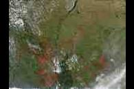 Fires in Paraguay and Brazil