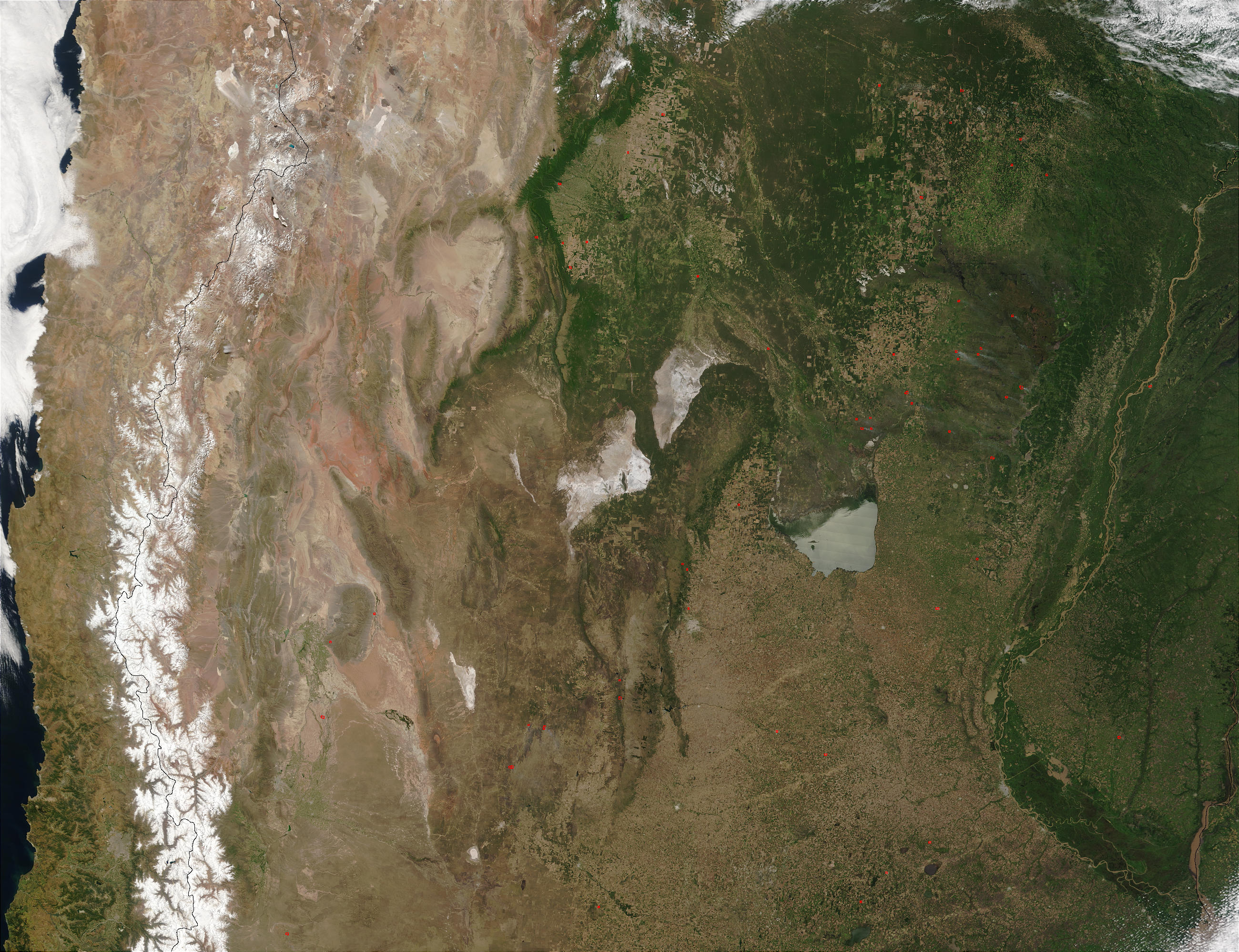 Fires in northern Argentina - related image preview