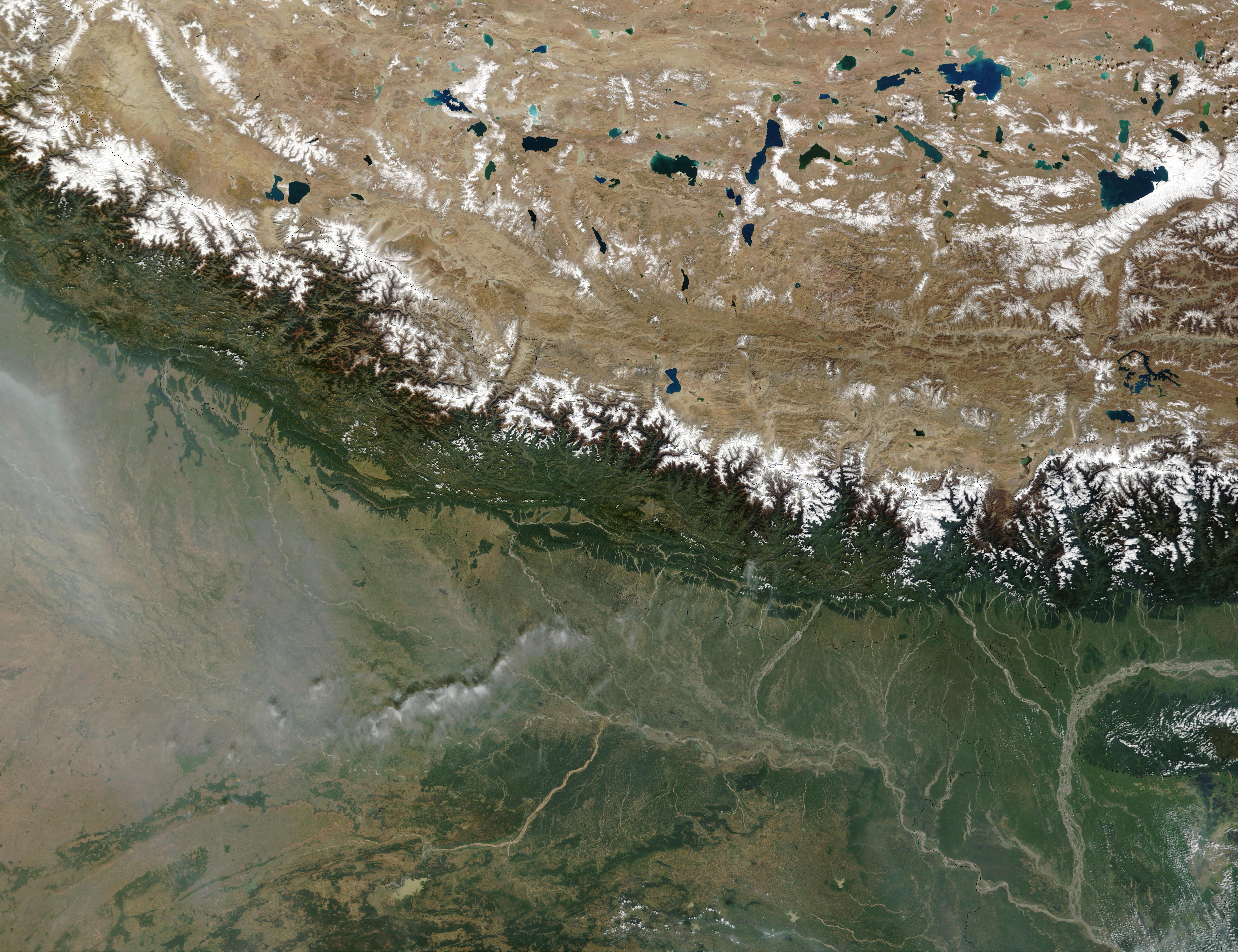 nasa himalayas from space - photo #7