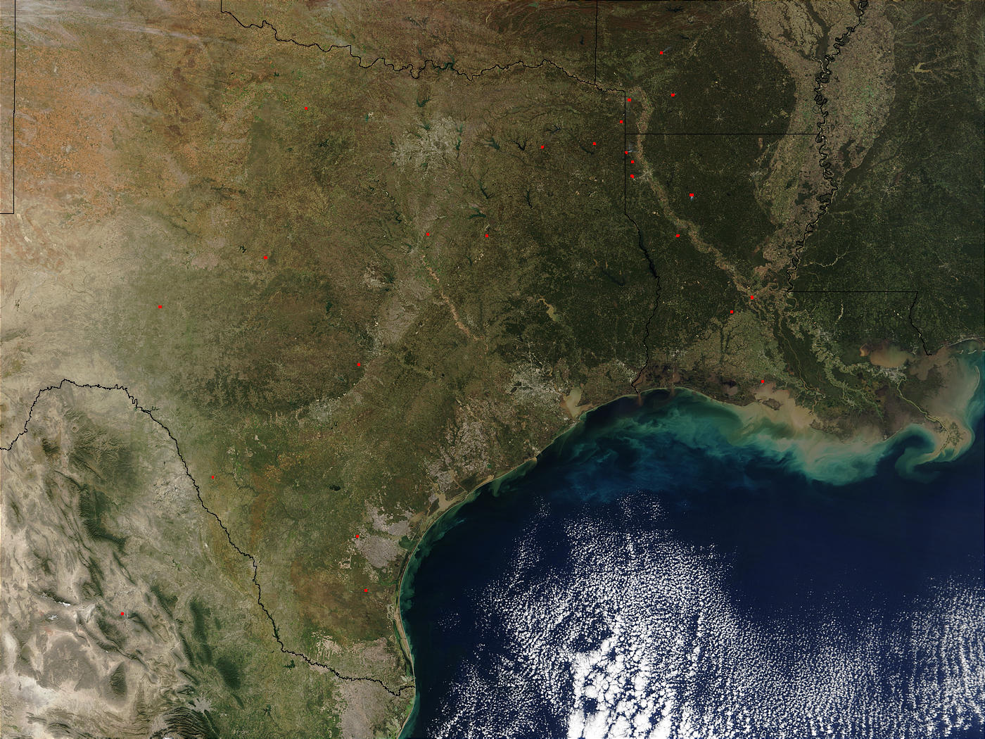 Texas and Louisiana - related image preview