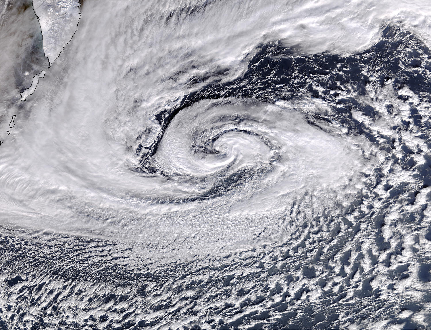 Depression in North Pacific Ocean - related image preview