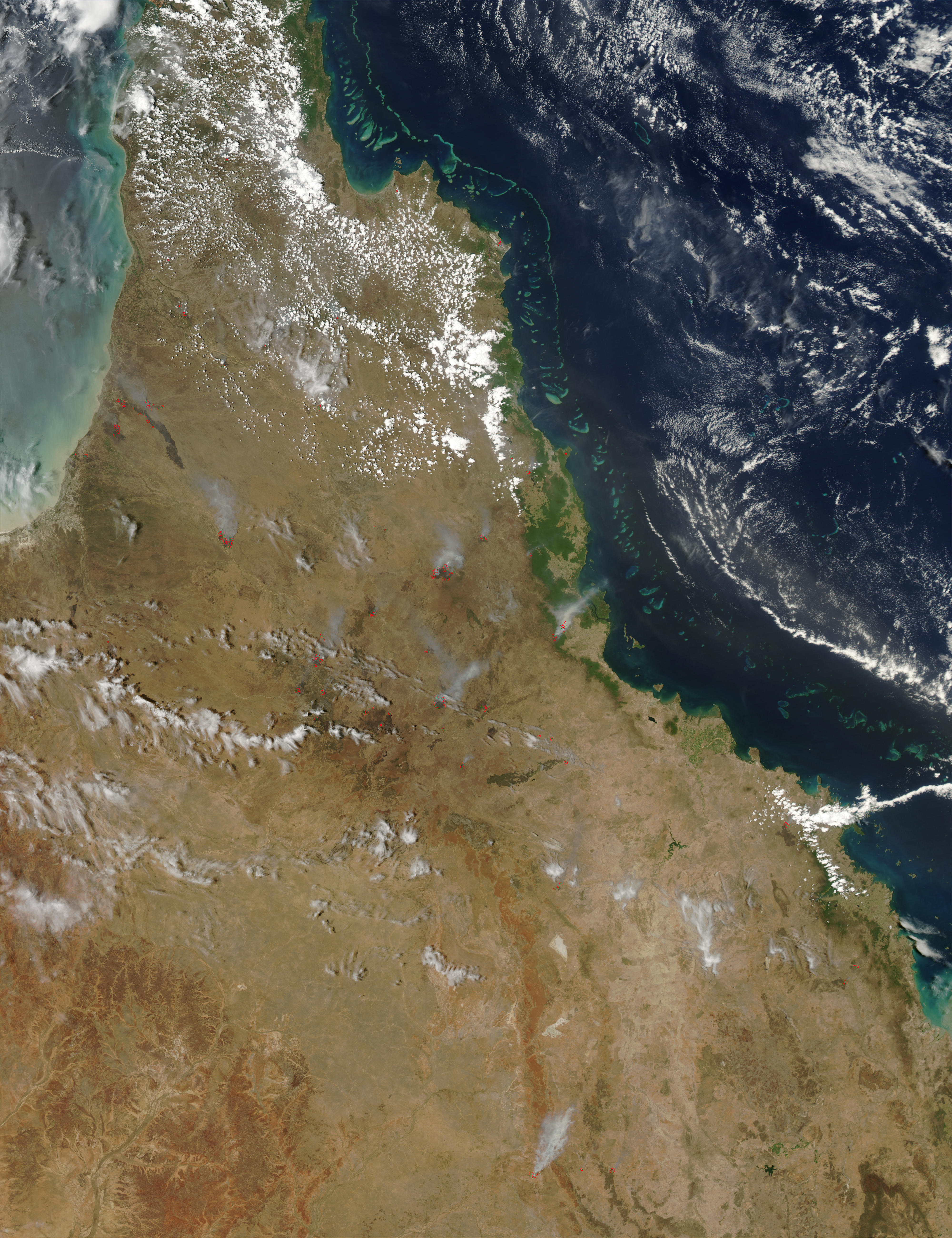 Fires in Northeastern Australia - related image preview