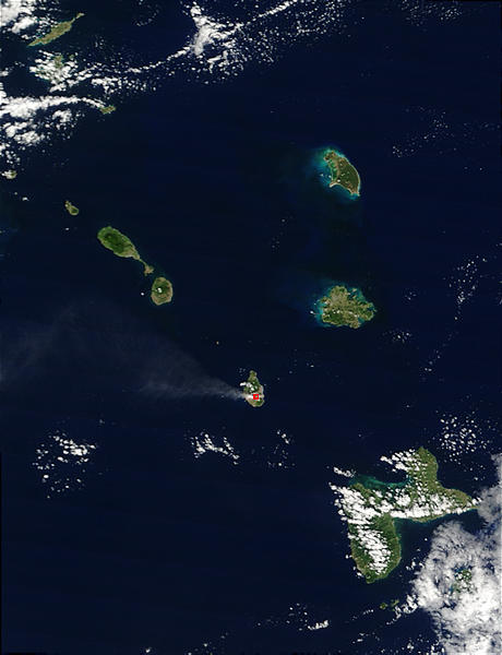 Eruption of Soufriere Hills, Montserrat - related image preview