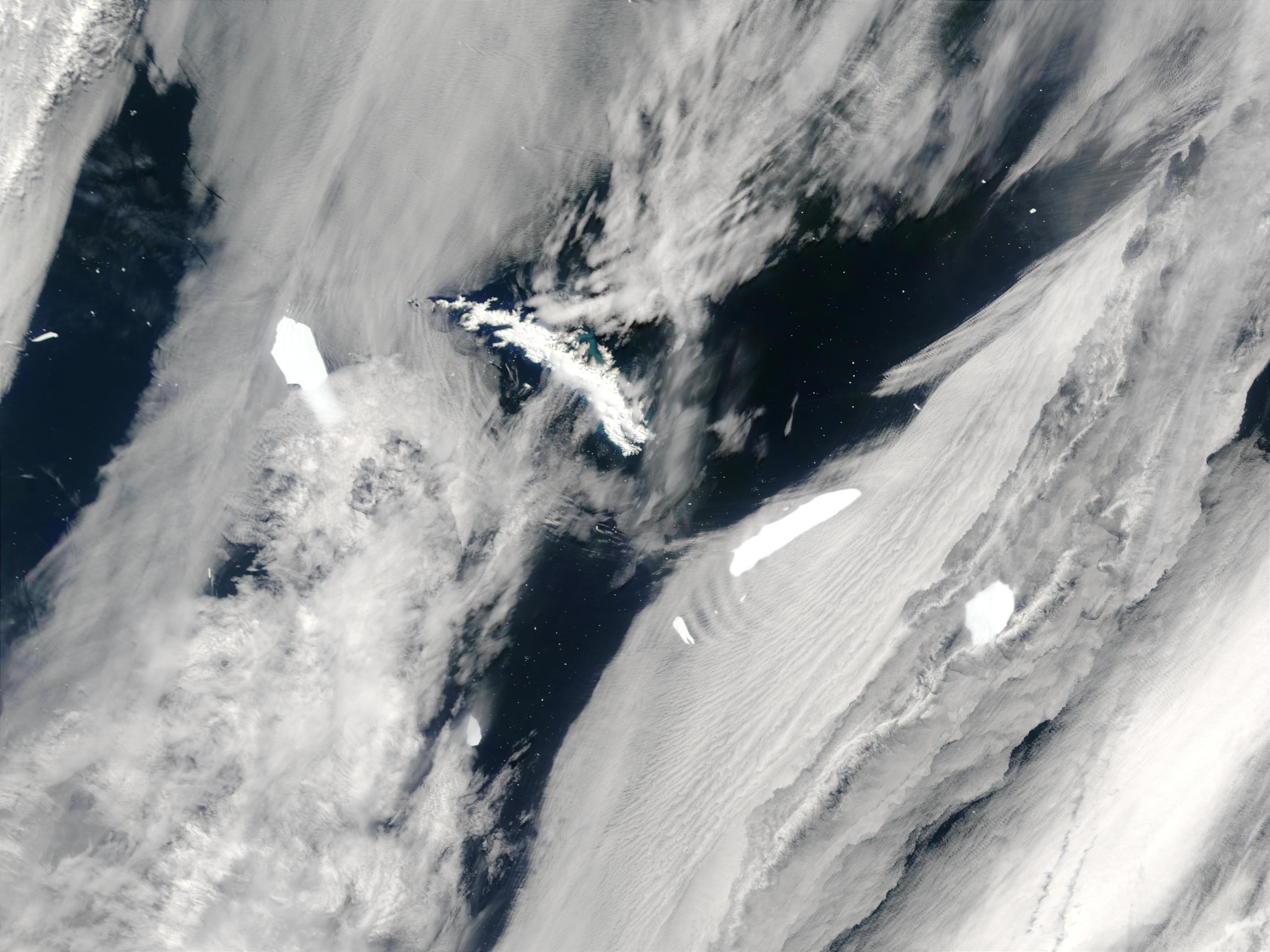 Icebergs near South Georgia - related image preview