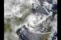 Tropical Cyclone 08S off Mozambique