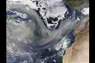 Saharan dust over the Atlantic