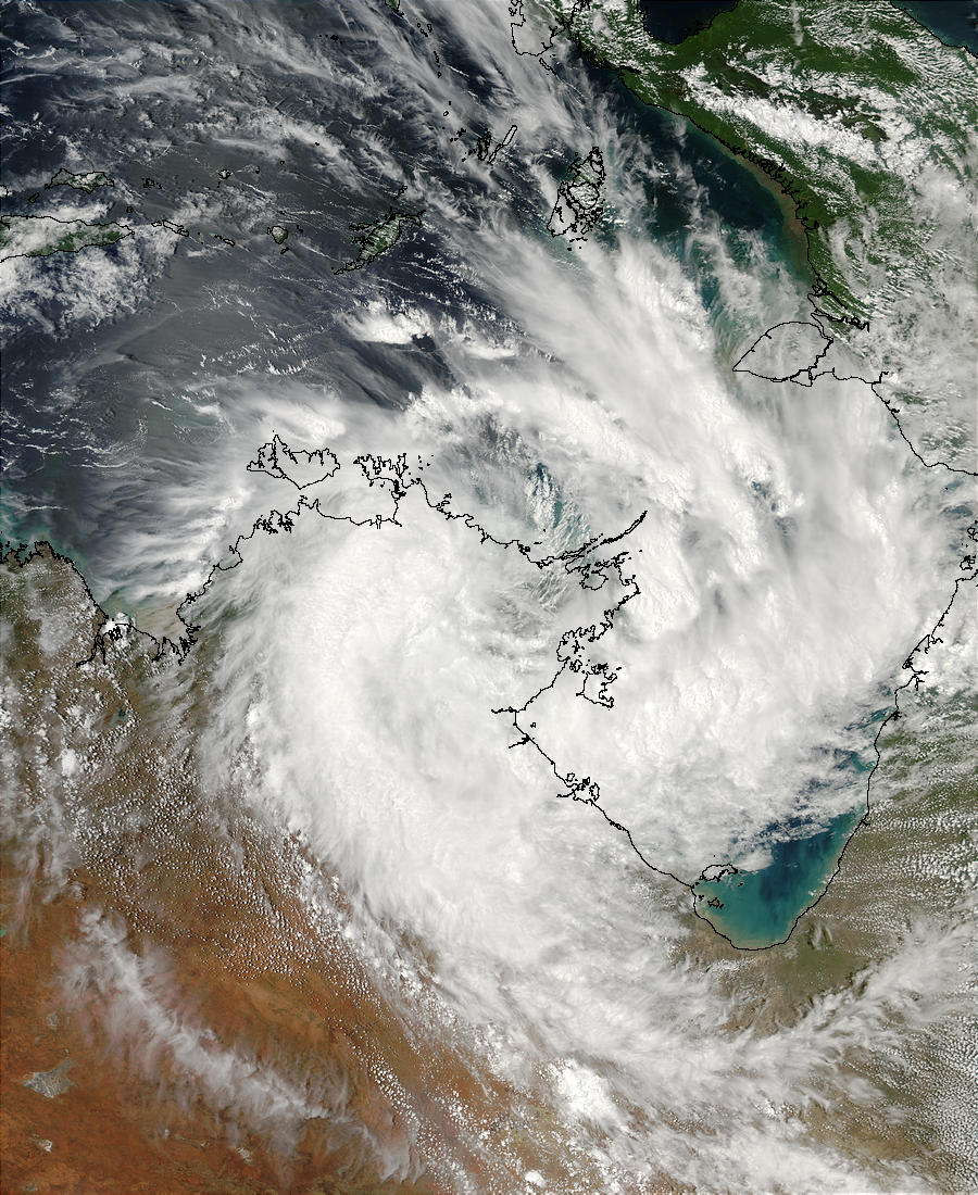 Storm over northern Australia - related image preview