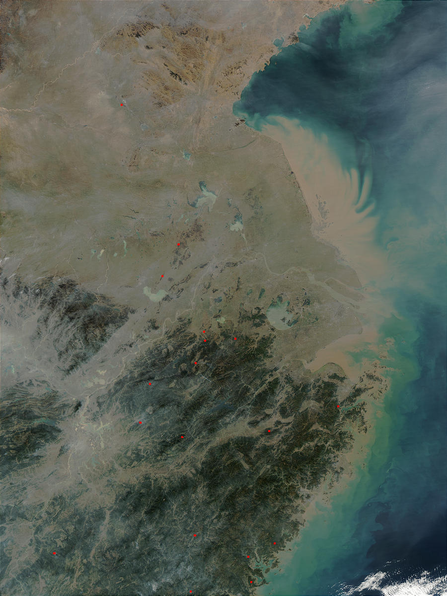 Pollution in Eastern China - related image preview