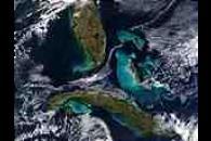 Cuba, Bahamas, and Florida