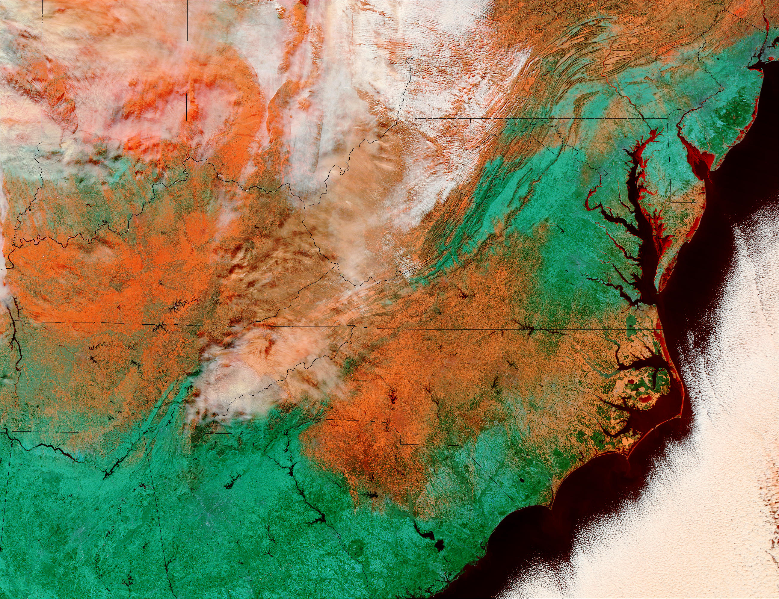 Snow in Eastern United States - related image preview