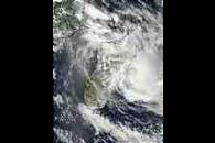 Tropical Cyclone Fari (11S) off Madagascar