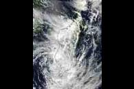 Tropical Cyclone Fari (11S) over Madagascar