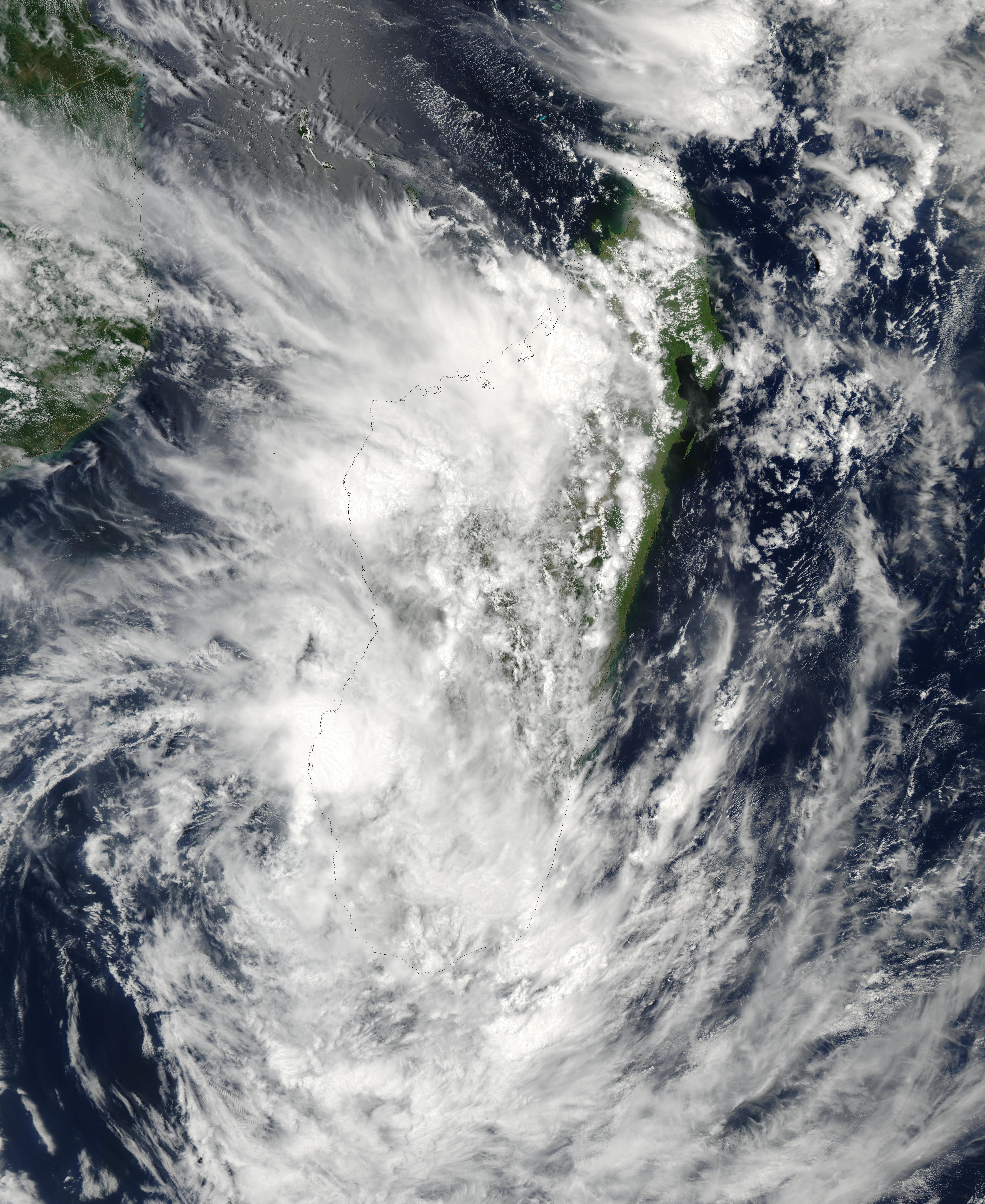 NASA Visible Earth: Tropical Cyclone Fari (11S) over ...