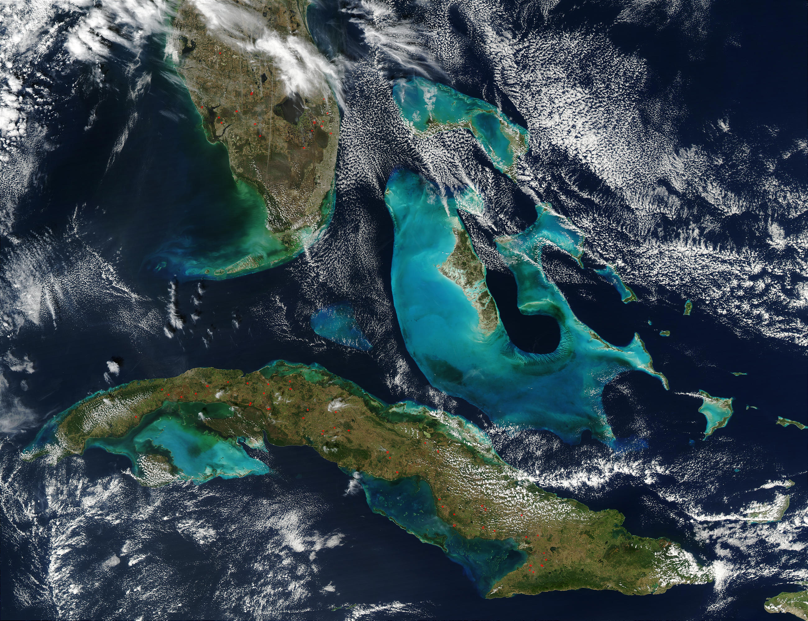 Fires in Cuba and Florida - related image preview