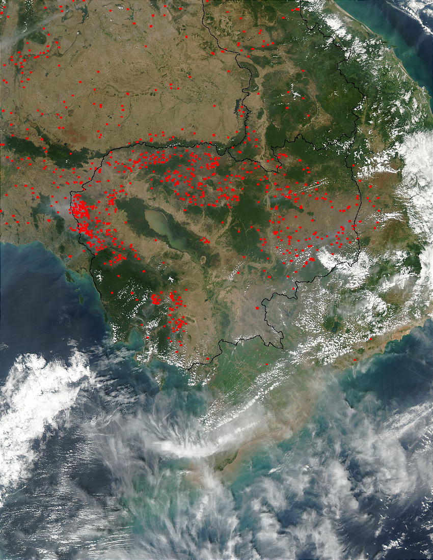 Fires in Indochina - related image preview