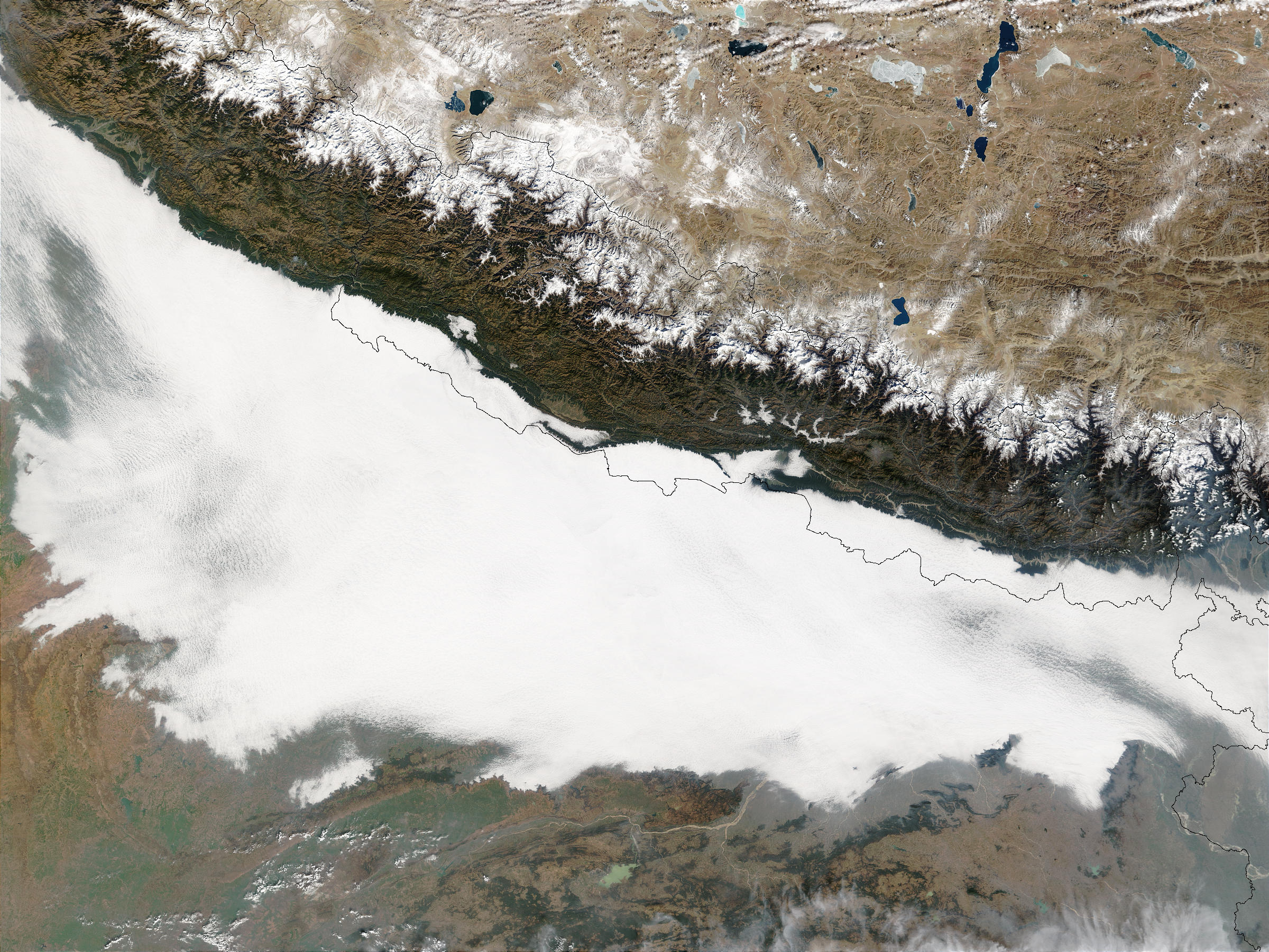 Smog in Northern India - related image preview