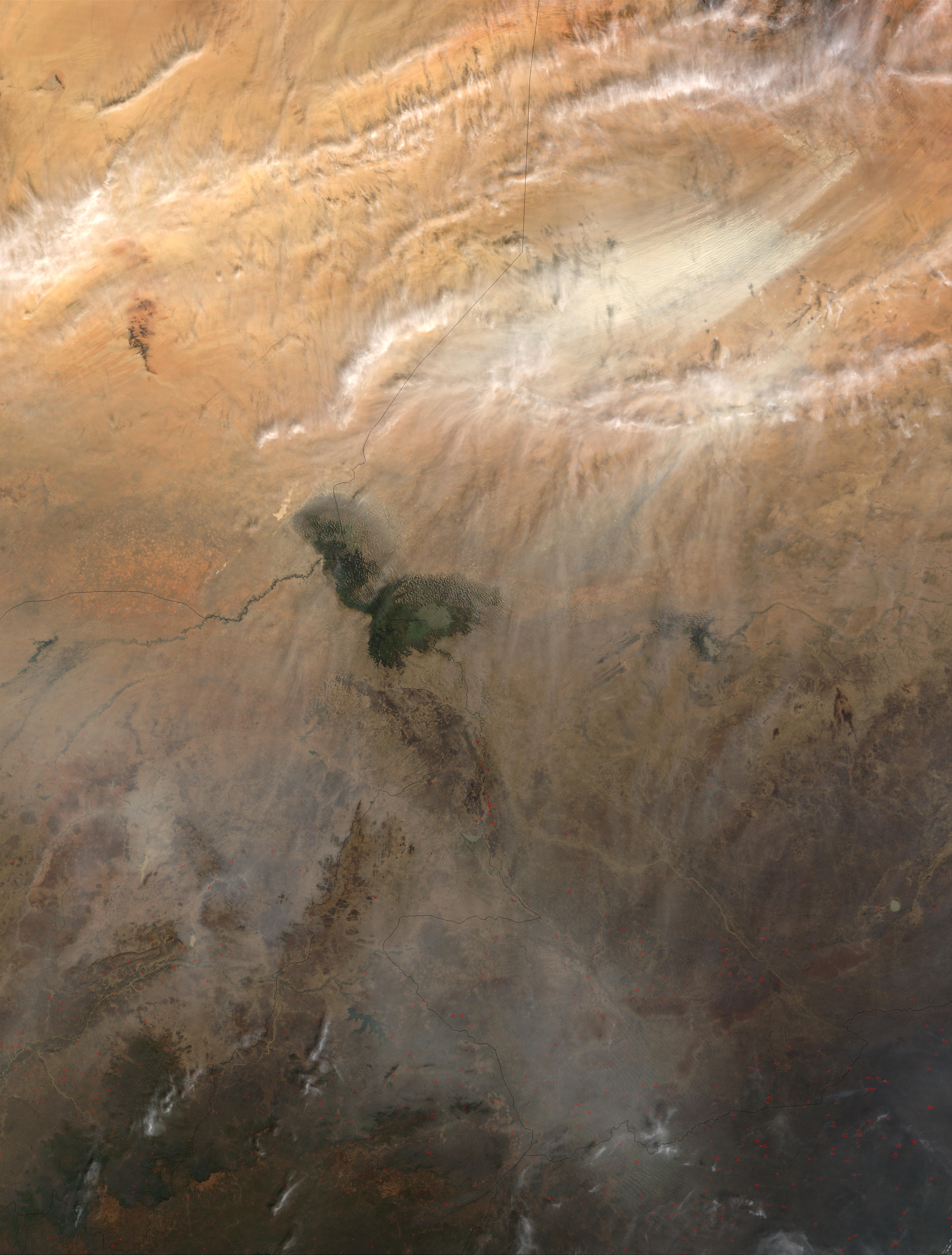 Dust storm in Chad - related image preview