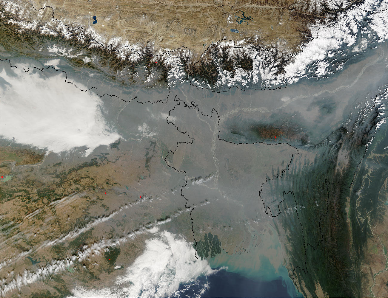 Pollution in Bangladesh and Northern India - related image preview