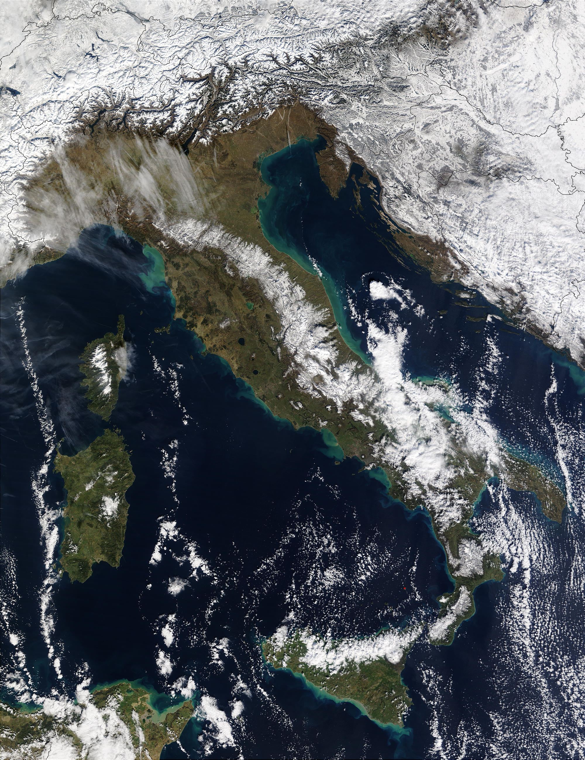 Snow in Italy and Sicily - related image preview