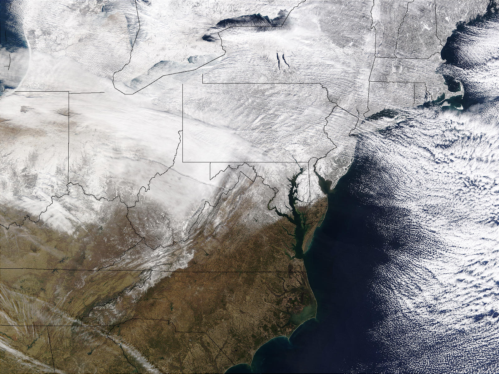 Snow across Eastern United States - related image preview