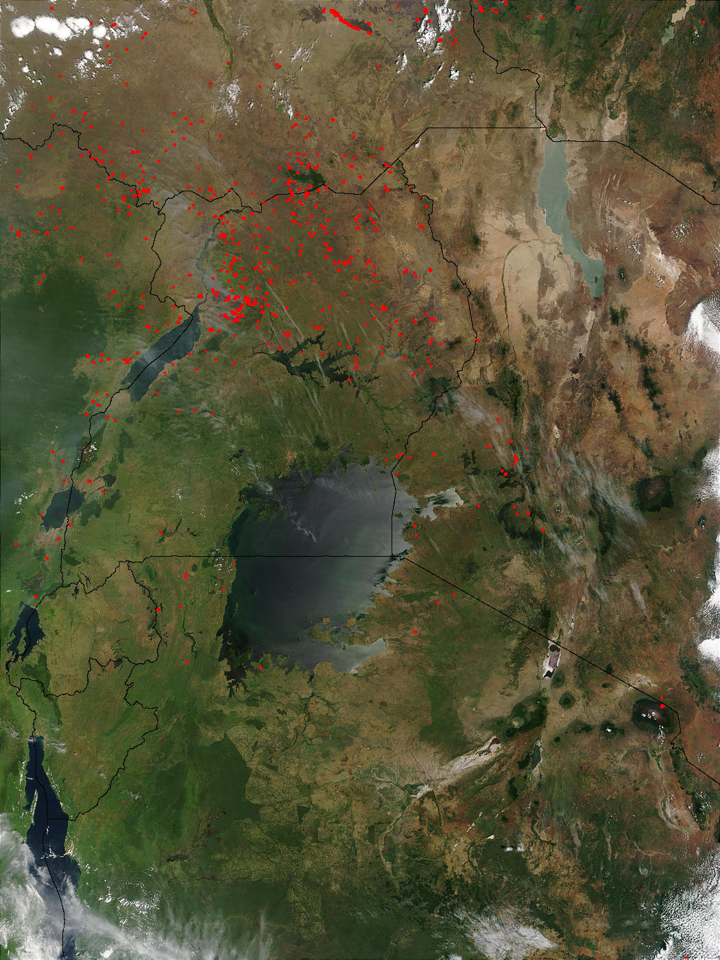 Fires in East Africa - related image preview