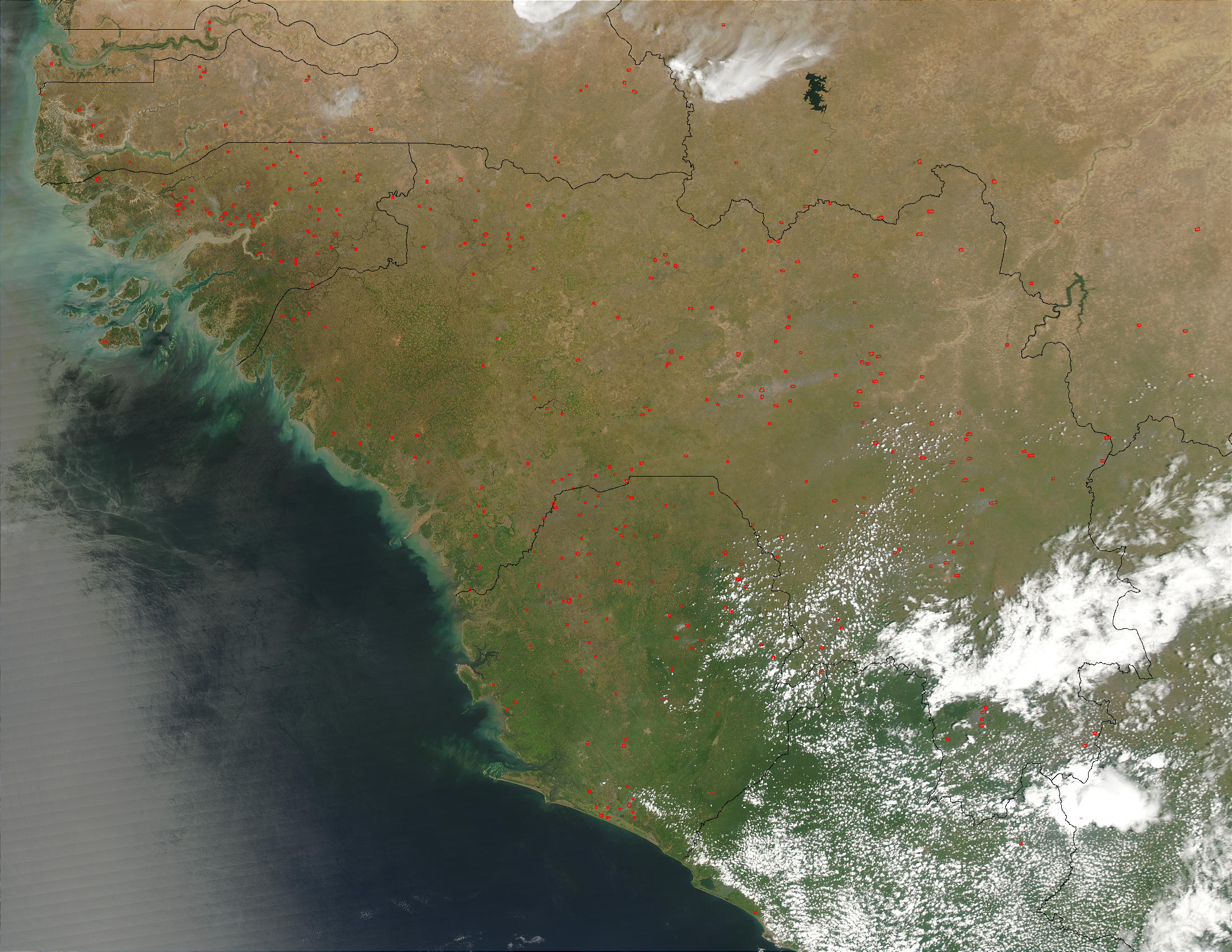 Fires in West Africa - related image preview