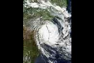 Tropical Cyclone Japhet (19S) off Mozambique