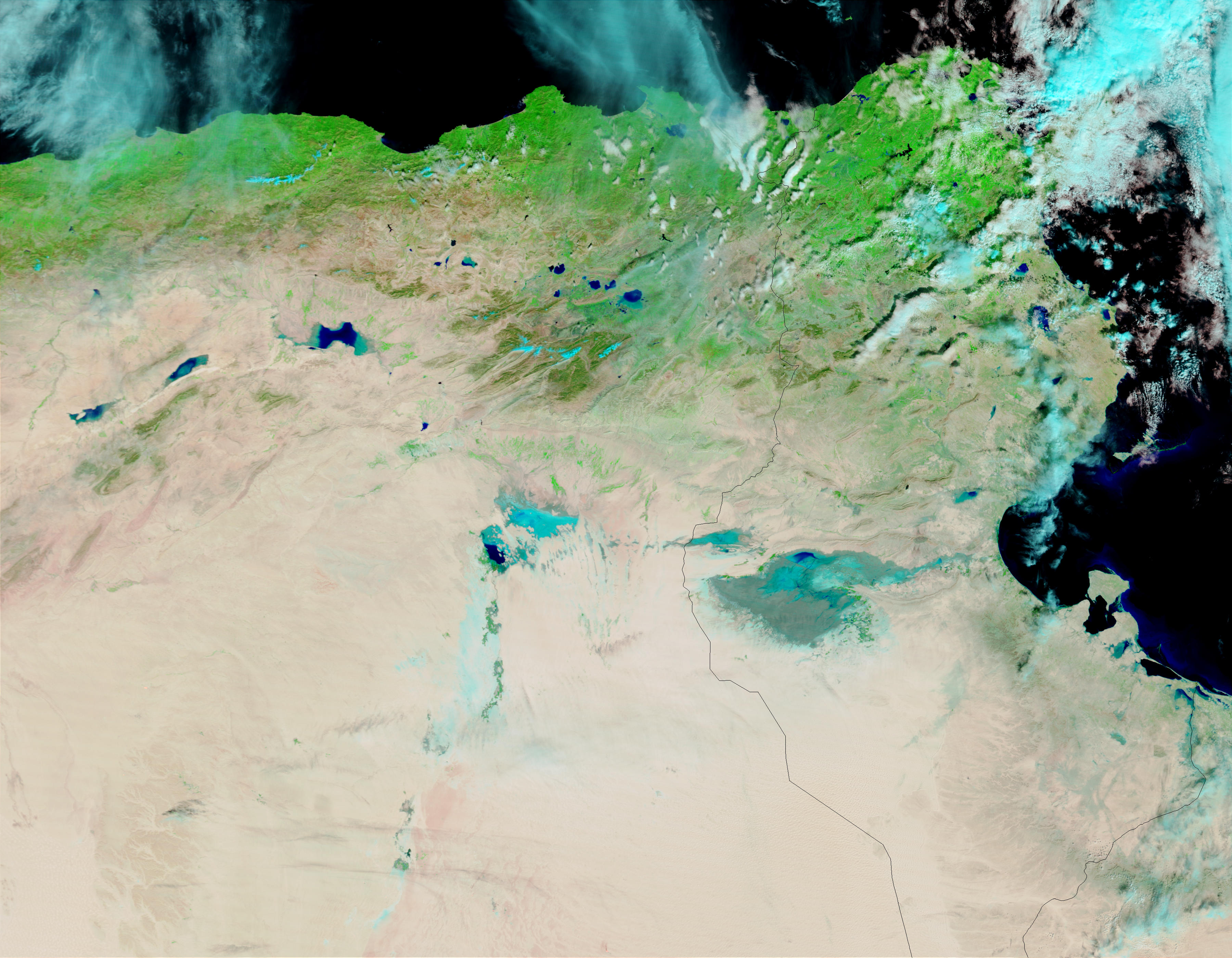 Floods in Algeria and Tunisia - related image preview