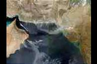 Dust over the Arabian Sea (Terra/Aqua combination)