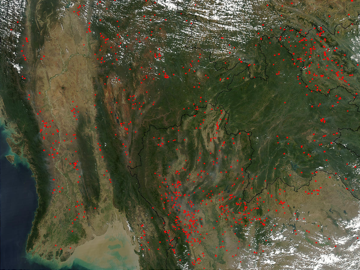 Fires in Southeast Asia - related image preview