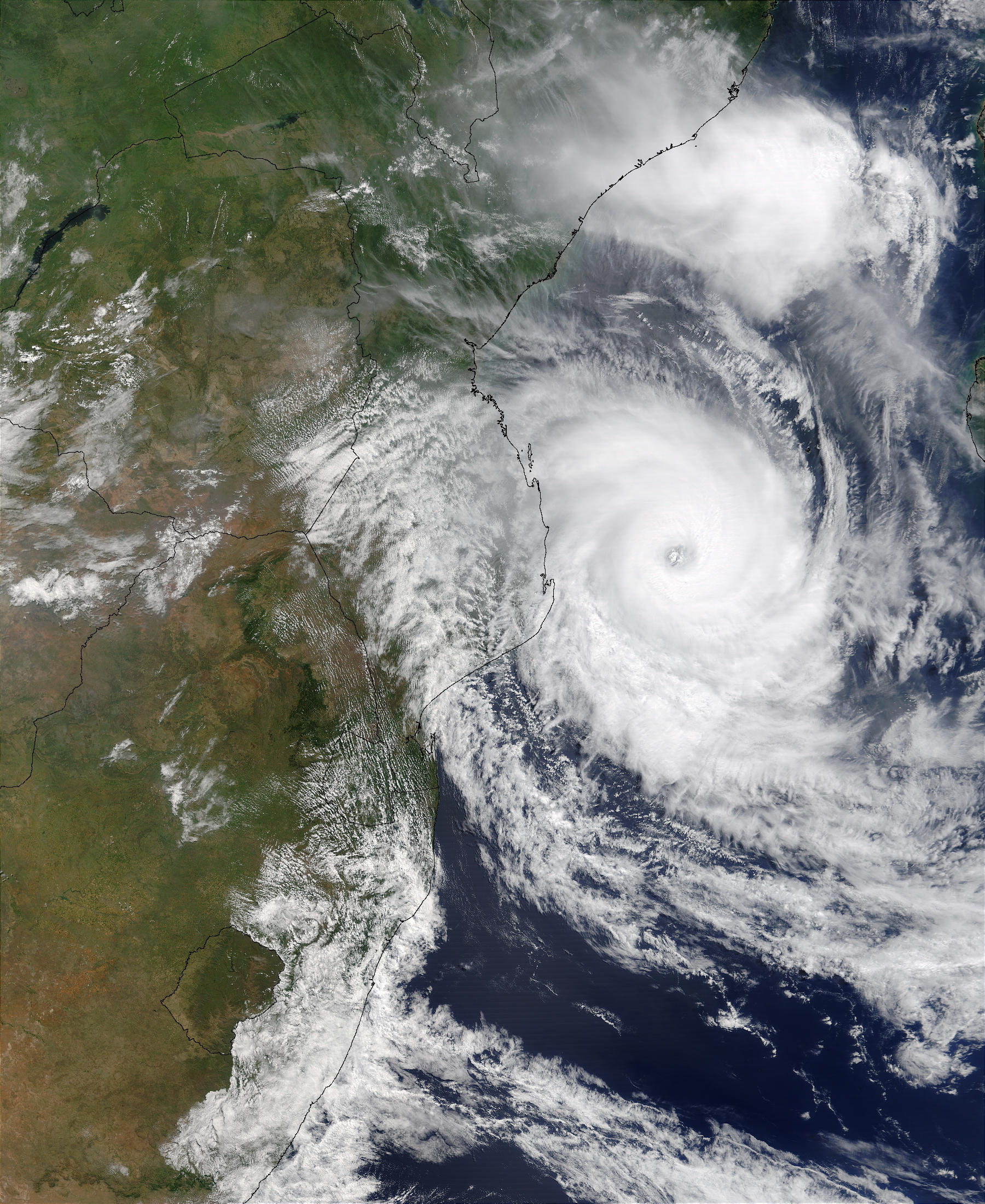 Tropical Cyclone Japhet (19S) off Mozambique - related image preview