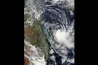 Tropical Cyclone Erica (22P) off Australia
