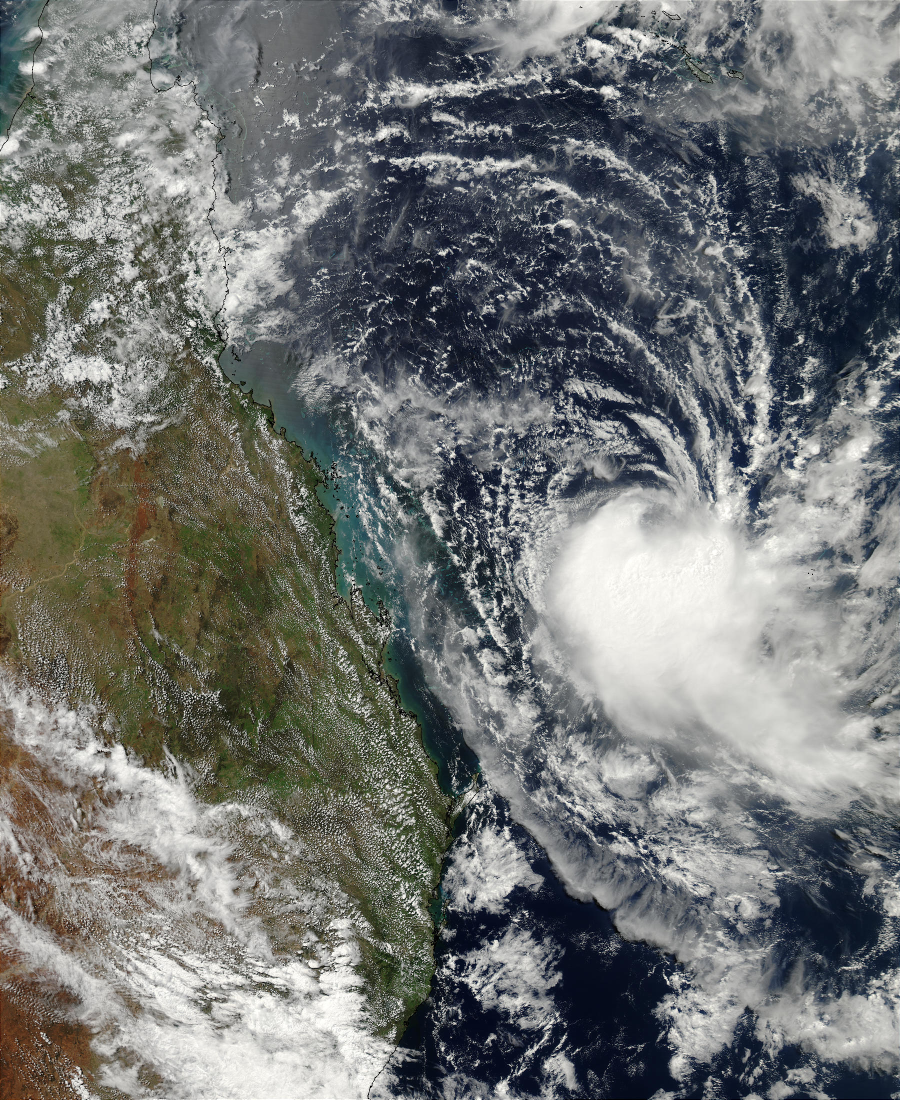 Tropical Cyclone Erica (22P) off Australia - related image preview