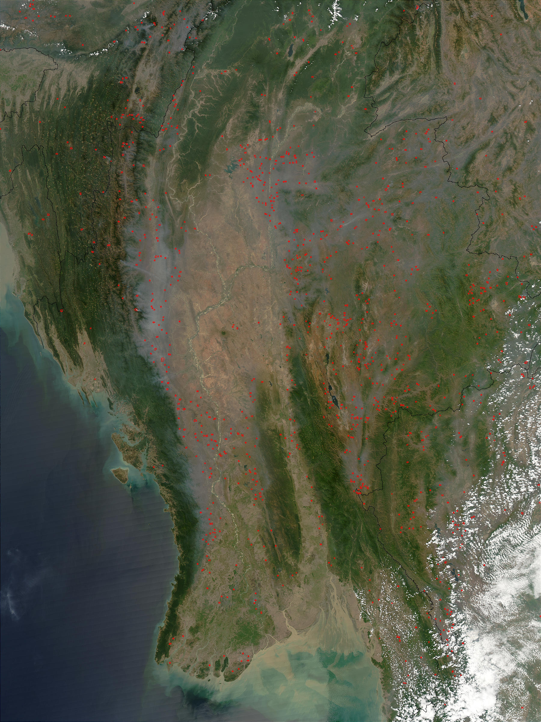Fires in Myanmar - related image preview
