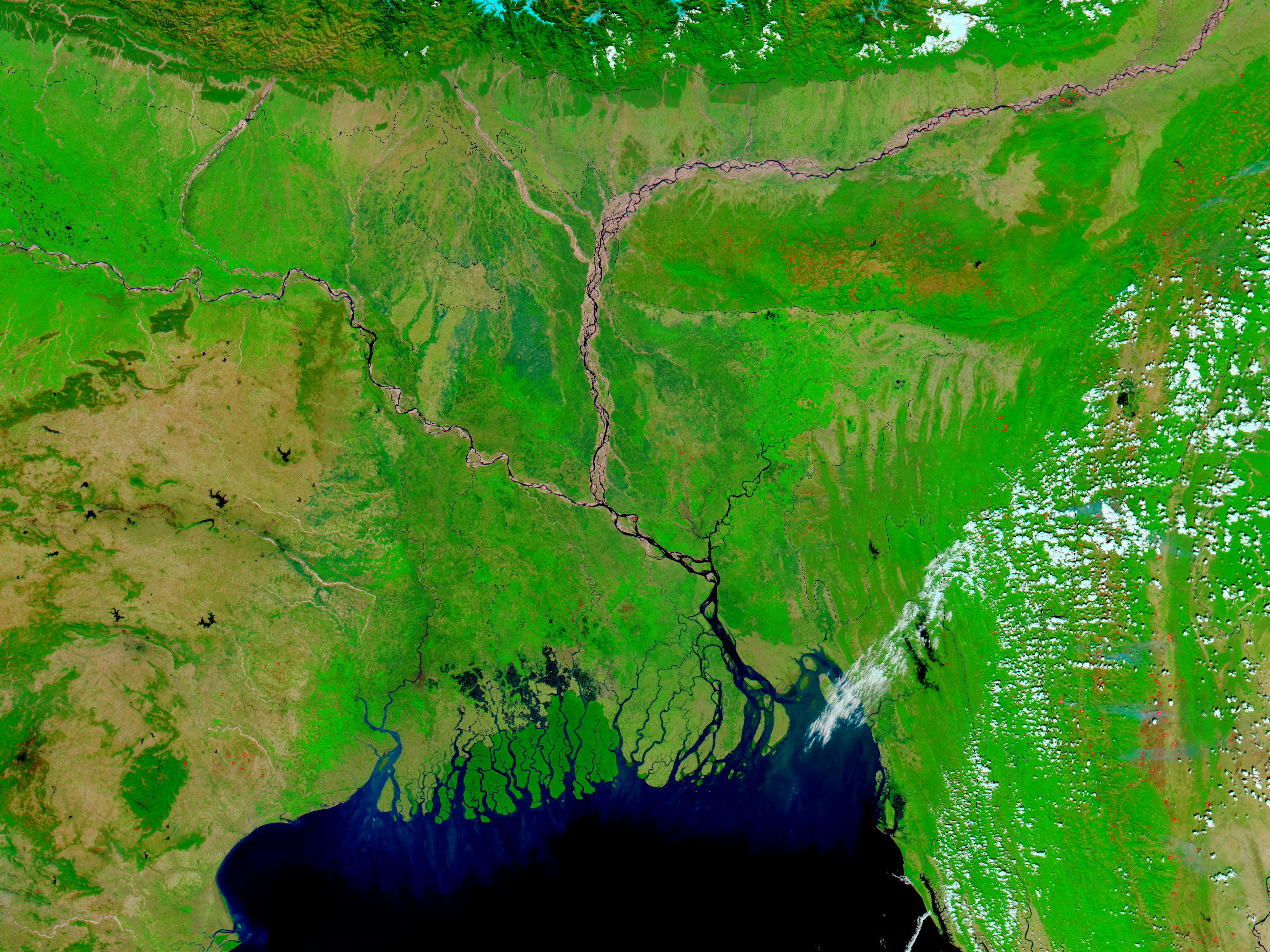 Bangladesh and Northeast India - related image preview