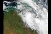 Floods behind Tropical Cyclone Craig (24S) in Northern Australia