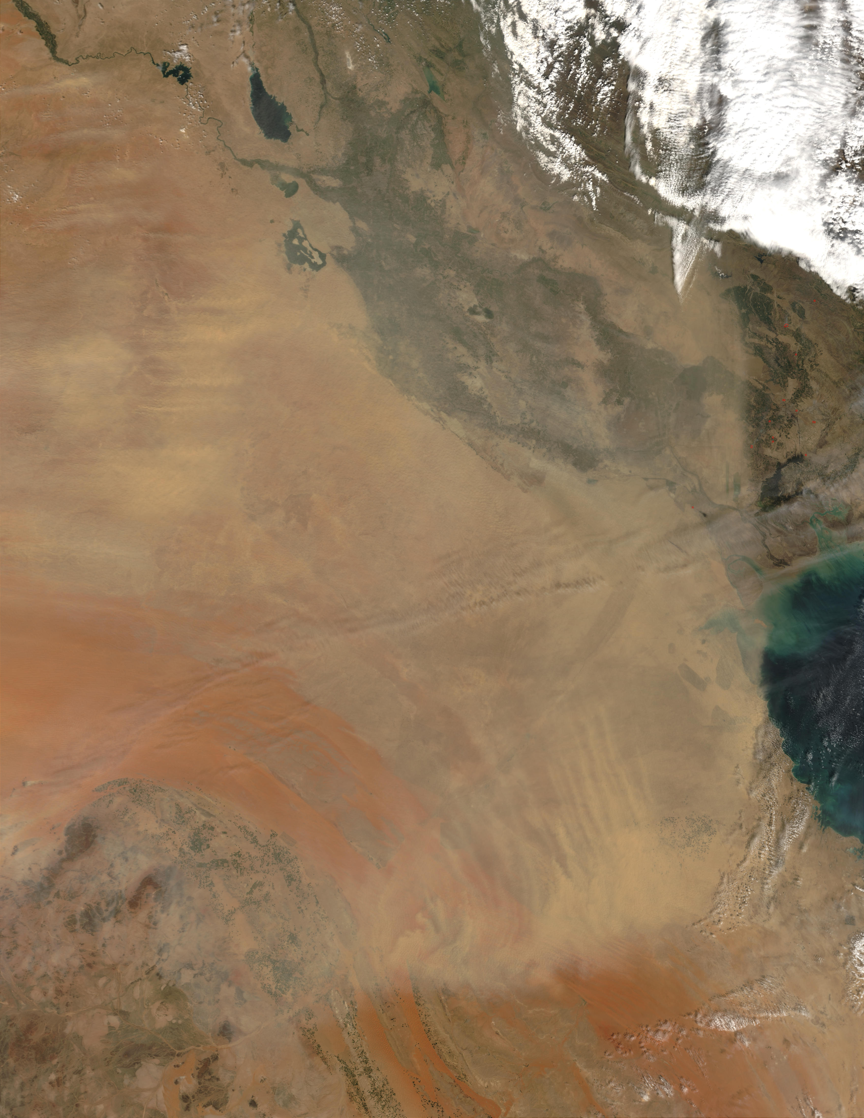 Dust Storm in Iraq and Kuwait - related image preview
