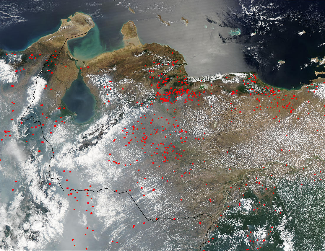 Fires in Venezuela - related image preview
