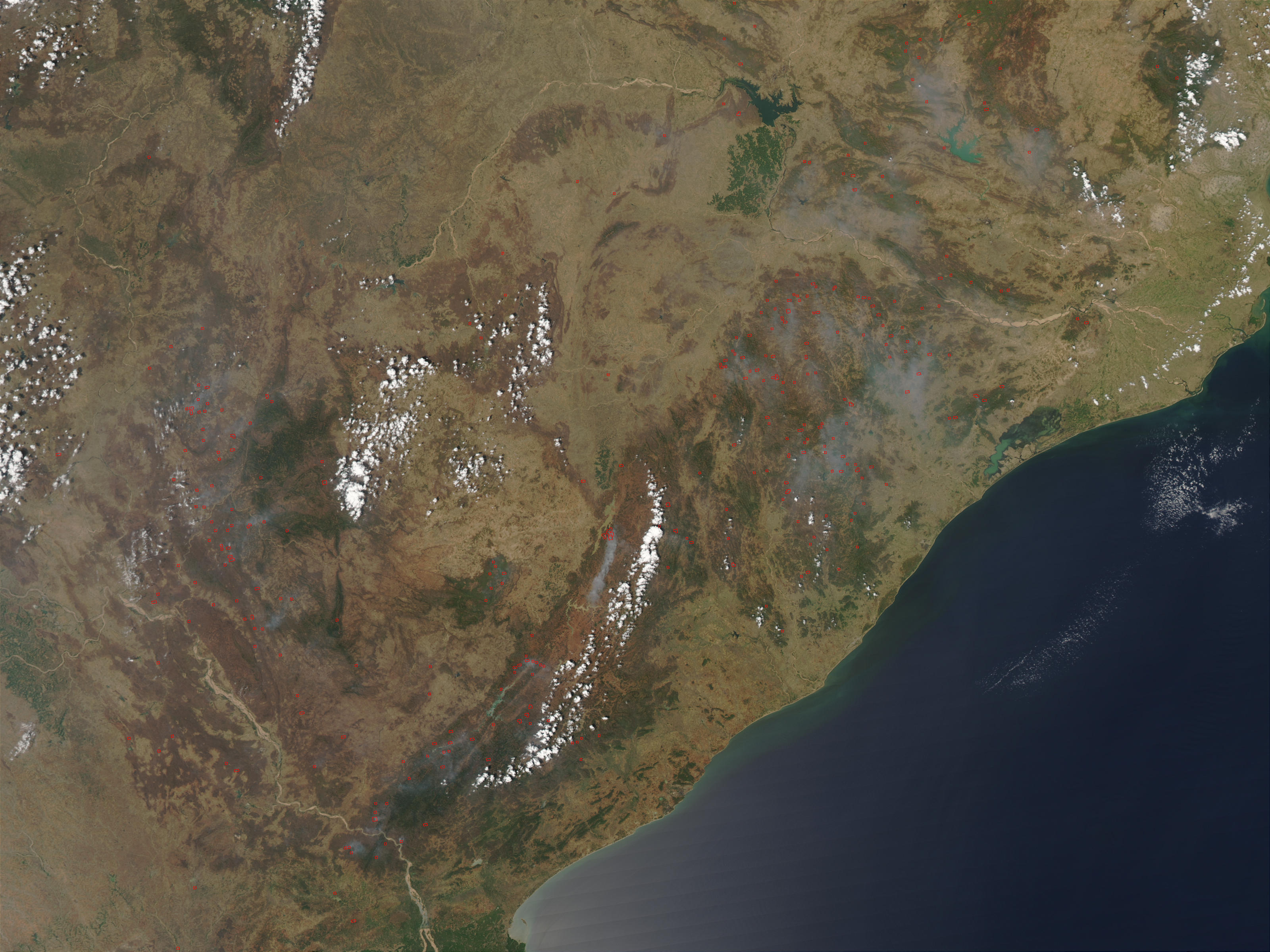 Fires in eastern India - related image preview