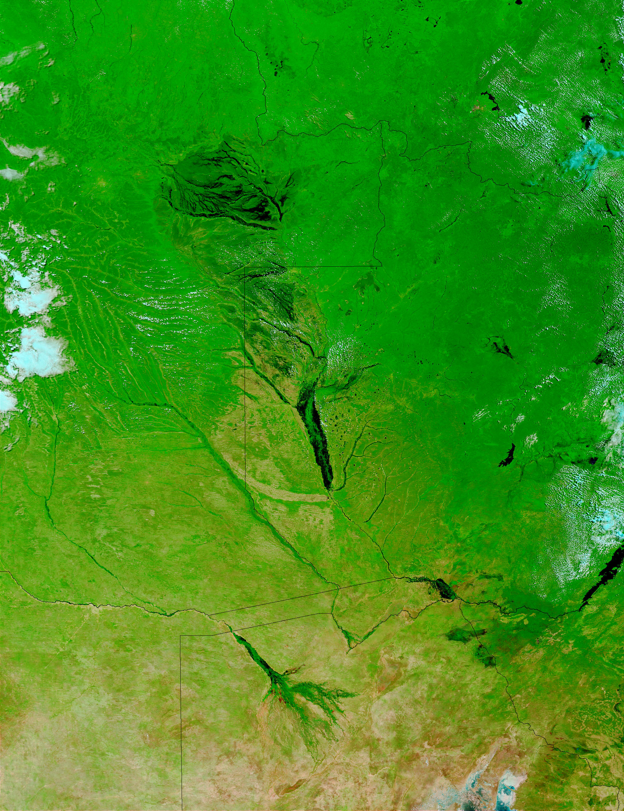 Floods in Zambia and Angola - related image preview