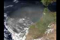 Saharan Dust off Morocco