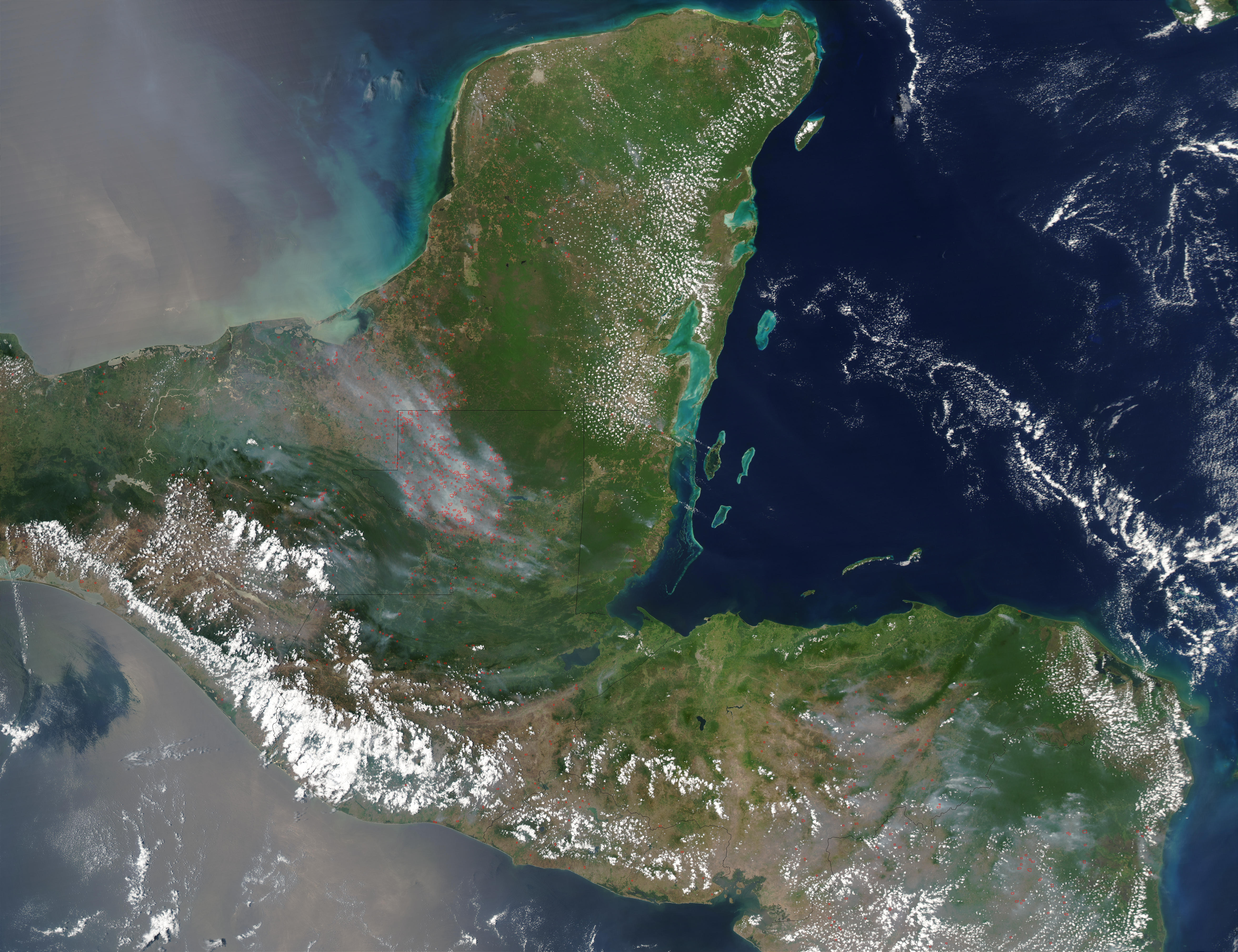 Fires in Mexico and Central America - related image preview